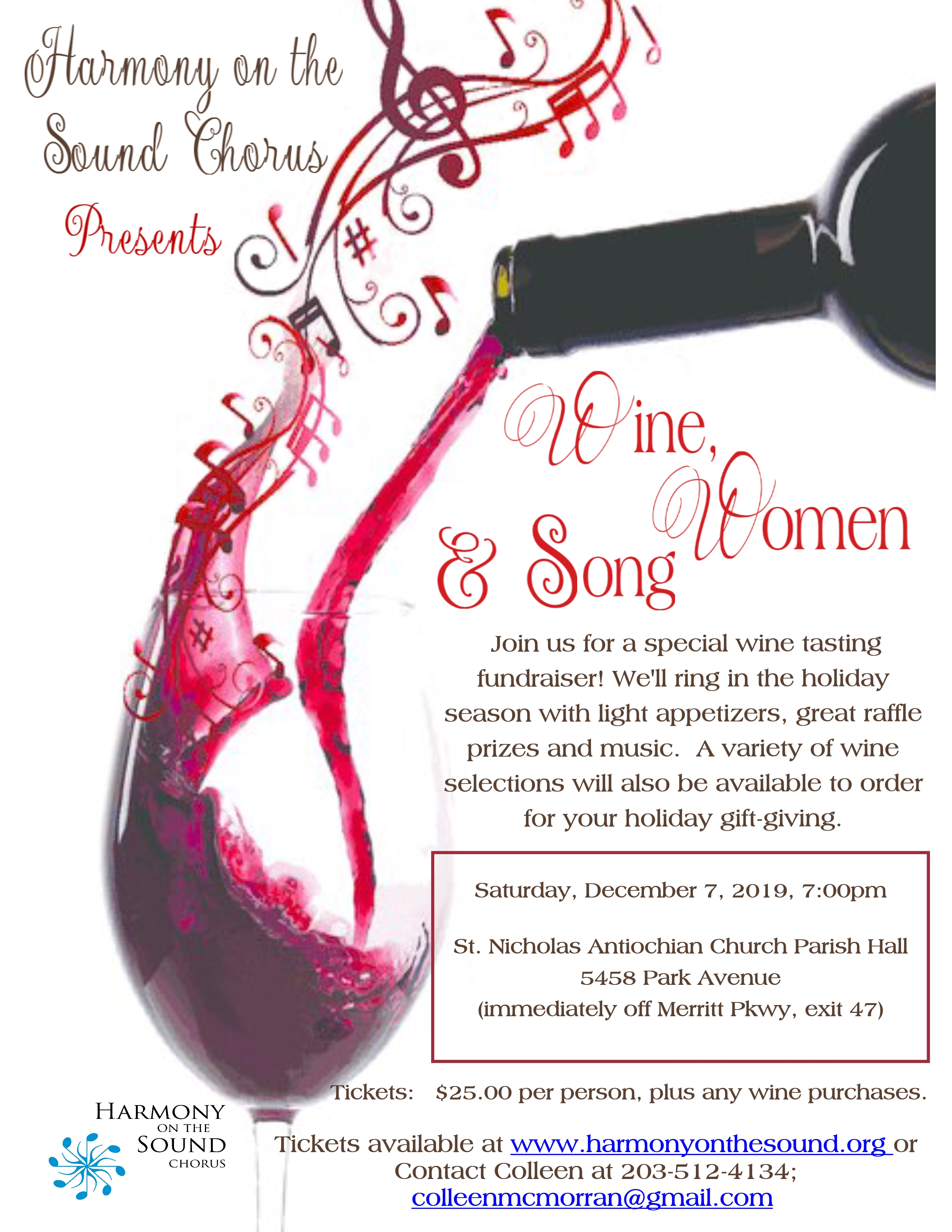 Wine, Women and Song!